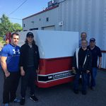 Arrival of a new Zamboni Ice Resurfacer at Excellent Ice – Kirkland